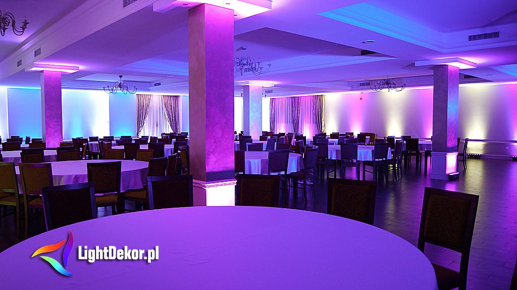 Sala Weselna Jata W Łukowie ~ Hotel Chrobry Międzyrzec P  LightDekor  Dekoracje światłem
