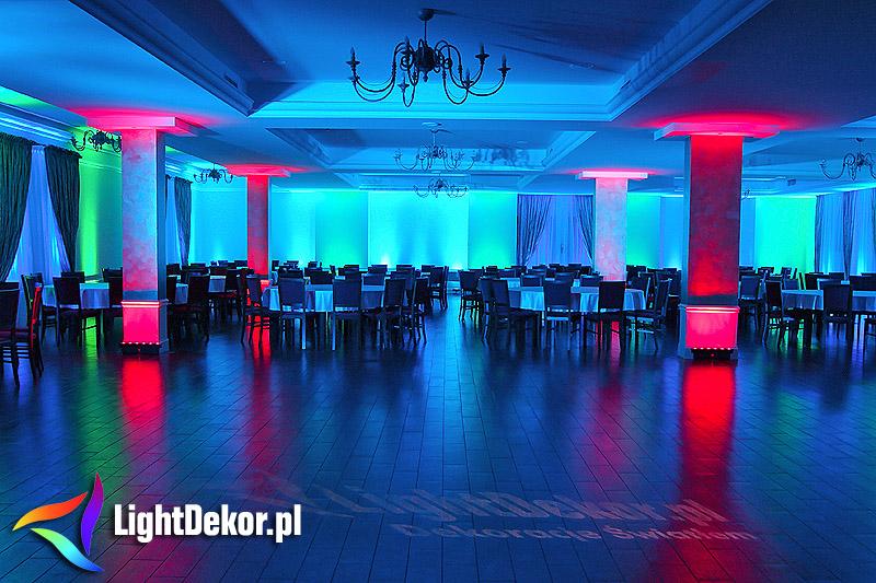 Sala Weselna Jata W Łukowie ~ Pakiet MINI  LightDekor  Dekoracje światłem Biała Podlaska
